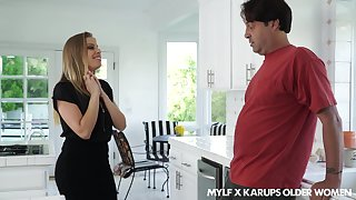 Flirty MILF Britney Amber seduces their way married neighbor purchase fucking their way