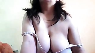 Leader brunette with chubby boobs rides cock