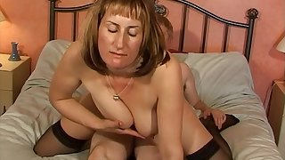 Sizzling chick Naomi in underwear gets fucked by a Sizzling neighbor