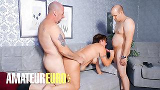 AMATEUREURO - Big Ass German Mature Needs A Good Threesome