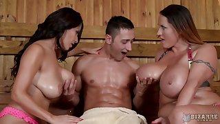 Fantastic Susana Alcala loves MFF threesome in a horny sensual way