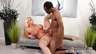 Mature gets her hands on a tasty BBC after a long while
