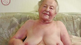 Blubbery Mommies with the addition of Alluring Grannies in Videos - MILF