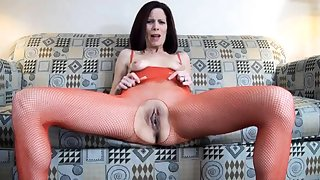 Masturbation less nylon