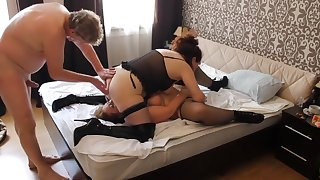 Fabulous Homemade record with Compilation, Threesome scenes