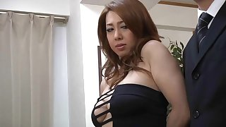 corpulent japanese MILF Yumi Kazama porn video