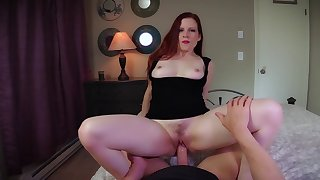 Daughter Fyre teeming with naughty notions during POV encounter